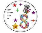 TOP LA CLASSE EN 8