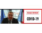 Message de M. le Maire dans le cadre la crise sanitaire