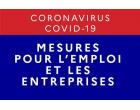Mesures en faveur des entreprises et de l'emploi