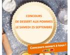 Fête de l'arbre - Concours de dessert aux pommes